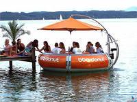 лодка-гриль, отличная идея для пикника на воде