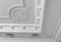 создание элементов  фасадного декора из гипса