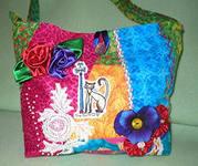 продаем новый товар - хенд-мейд сумки, умеющие загорать вместе с хозяйкой
