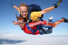 организация экстремальных прыжков с парашютом