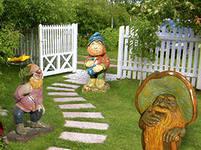 проектирование и изготовление декоративных фигур для сада