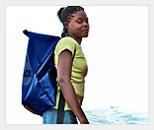 новый товар: рюкзак – трансформер для переноски воды