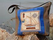 производство сумок из настоящих корабельных парусов