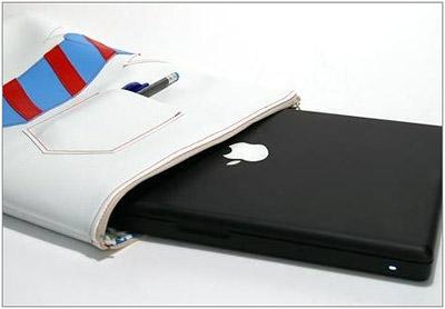 ...себе дома и шьешь такие вот модные, креативные сумки для ноутбуков.