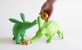 создание и продажа полигональных скульптур животных