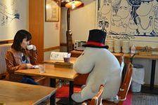 заграничный опыт, муми-кафе в Японии