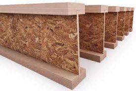 производство и продажа деревянной двутавровой балки для крыш и перекрытий