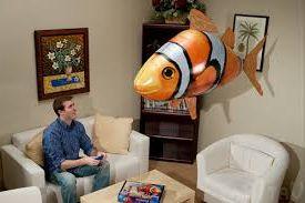 идея своего бизнеса на летающей рыбе с дистанционным управлением
