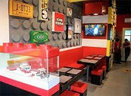 ресторан для любителей конструктора Лего, открываем лего-бургерную и зарабатываем