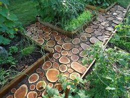 свой бизнес на изготовление и продаже садовых дорожек из дерева