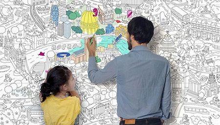 идея бизнеса на обоях-раскрасках для детей и взрослых, фото 2