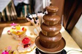шоколадные фонтаны, продажа, аренда, как идея бизнеса