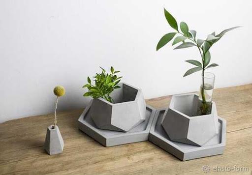 изготовление и продажа дизайнерских кашпо из бетона как идея бизнеса, фото 3