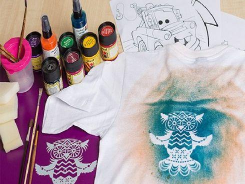 Идея бизнеса, роспись футболок, джинсов, сумок акриловыми красками, фото 2