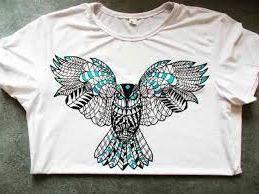 Идея бизнеса, роспись футболок, джинсов, сумок акриловыми красками