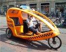новый городской транспорт - велотакси