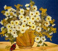 картины из сухих цветов – стильно и прибыльно. Научись и удиви знакомых!