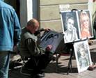 рисуем портреты на улицах