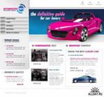 создание сайта автомобильной тематики, как перспективный замысел
