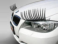 накладные реснички и улыбка для вашего автомобиля