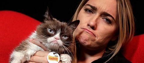 Как зарабатывает Grumpy Cat