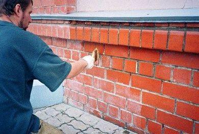 Технология удаления высолов с стен